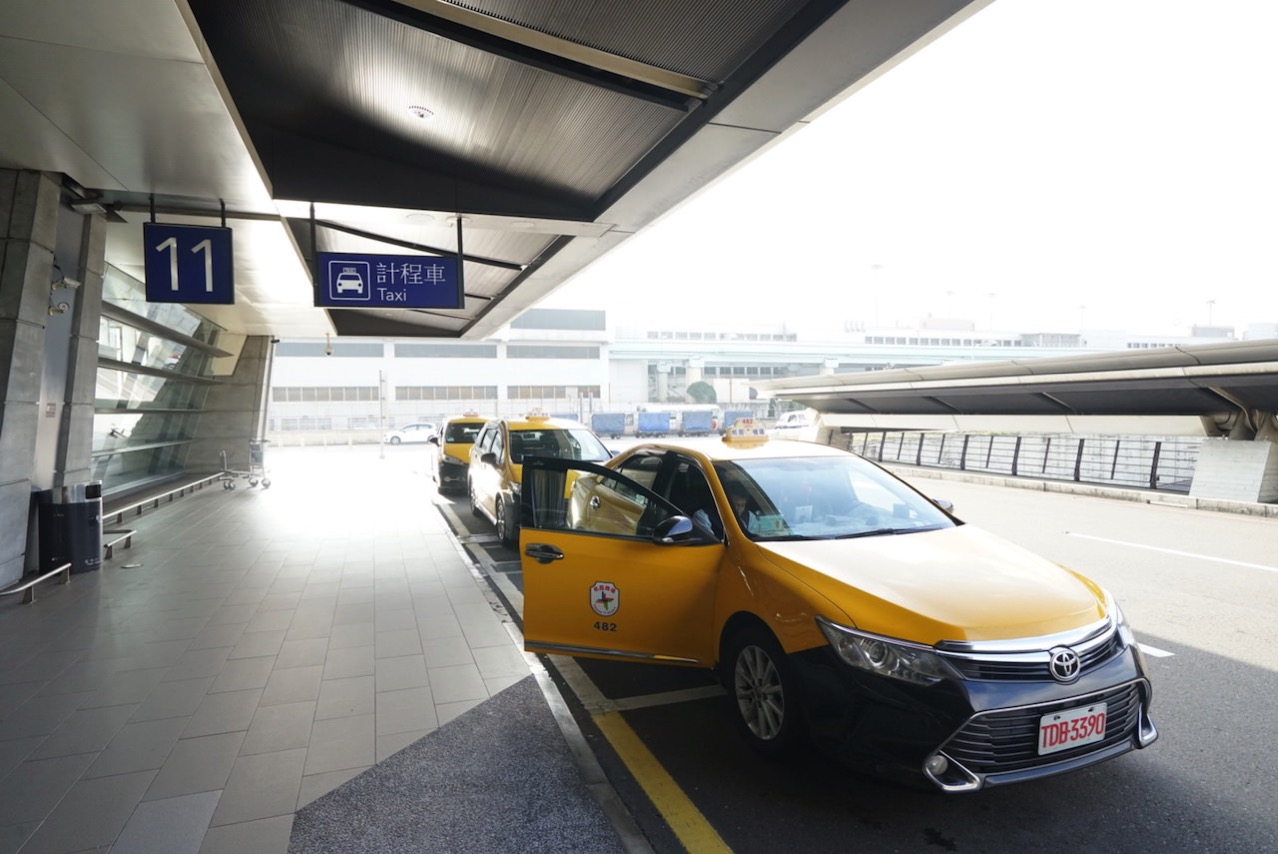Taoyuan airport taxi neage 0009