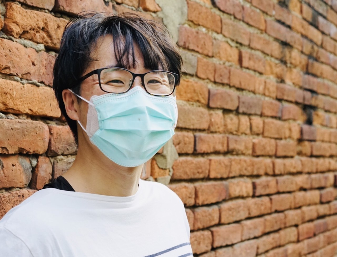 台湾のマスクのなかじき