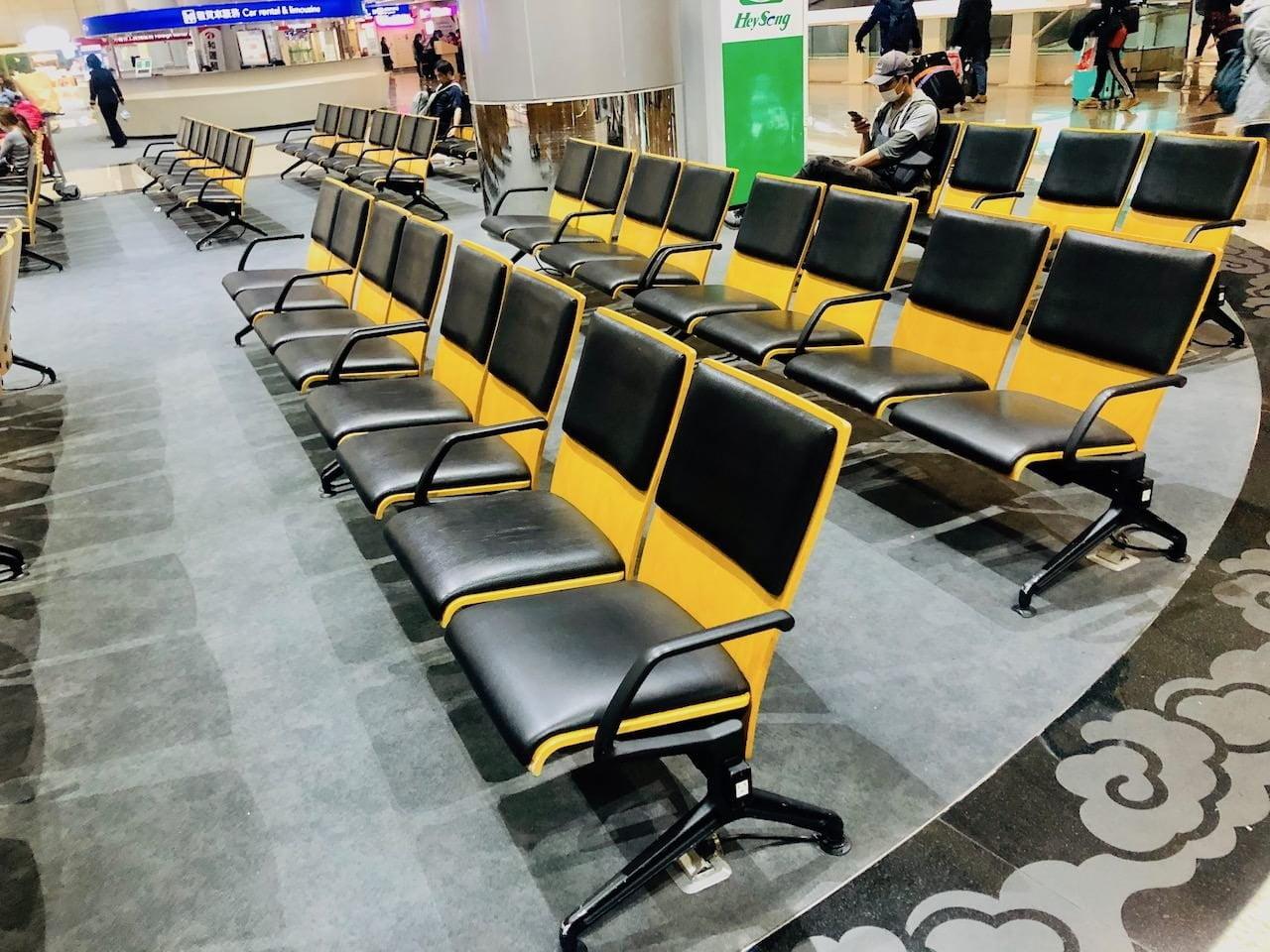 桃園空港第2ターミナル 1階 出迎えロビー