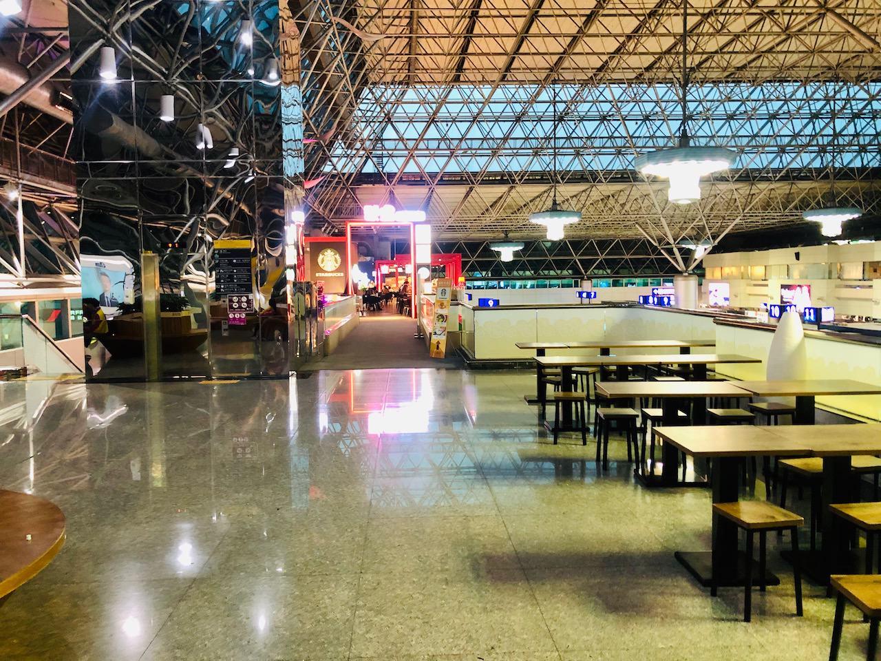 桃園空港第2ターミナル 4階 フードコートコーナー